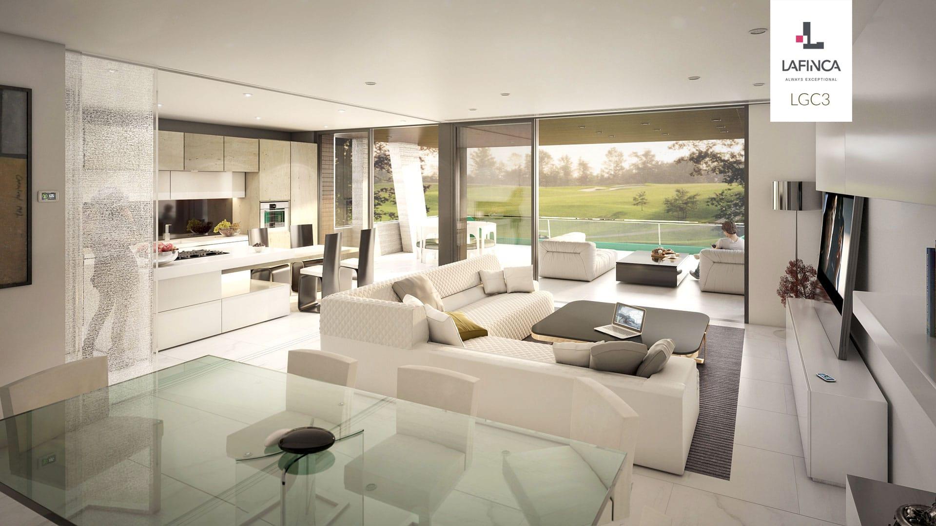 LAFINCA Residencial LGC3 - Salón